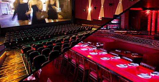 Otaiko's & Frank Theatres present Dinner & a Movie